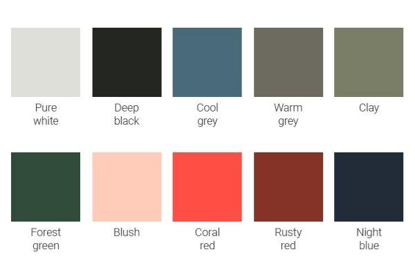 Auping Criade kleuren | Maassen van den Brink Velp